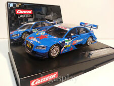 Slot car SCX Scalextric Carrera 27358 Evolution Audi A4 DTM 2008 A.Prémat