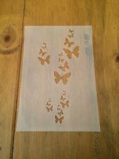 Butterflies Mylar Reusable Stencil Airbrush Painting Art Craft DIY Home Decor