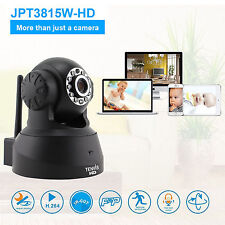 HD 720p WIRELESS WIFI TENVIS IP Camera rete domestica di sicurezza CCTV VISIONE NOTTURNA