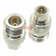 1pce Adapter N female jack to FME male plug RF connector straight F/M