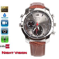 16G HD 1080P IR Night Vision DVR Waterproof Watch Nanny Camera Video Cam Record