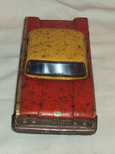 1950s OLD ORIGINAL VERY RARE VINTAGE SUNLINER TINPLATE TOY CAR MADE IN JAPAN