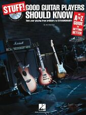 Stuff Good Guitar Players Should Know A-Z Guide To Getting Better Music Book CD