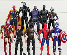 10Pcs Marvel Hero The Avengers Action Figures Kids Boys Figurines Toy PVC Dolls