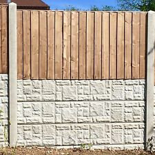 Fence fitting service/Treated Fence Panels Concrete Post& Gravelboard