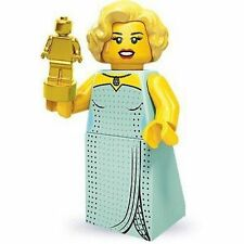 "COLLECTIBLE MINIFIGURE Lego Series 9 ""HOLLYWOOD STARLET"" Genuine Lego NEW 71000"