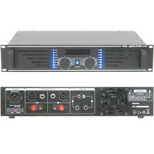 PRO 900W Stereo Power Amplifier -8 Ohm Studio Amp for Large Loud Speaker Systems