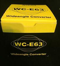 Genuine Nikon Camera WC-E63 Wideangle Converter Japan, With Original Box