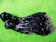 50 x cordino personalizzata con sgancio rapido con fibbia & forte clip in metallo, 20mm