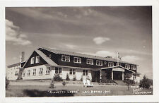 Alouette Lodge LAC BROME Quebec Canada 1940-50 Carte Photo Légaré RPPC