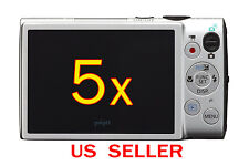 5x Canon ELPH 330HS Camera LCD Screen Protector Guard Cover Film