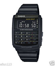 CA-506B-1A Black Casio Unisex Watches Data Bank Calculator Dual time Alarm New