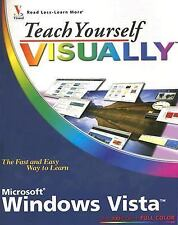 Teach Yourself VISUALLY Windows Vista McFedries, Paul Paperback