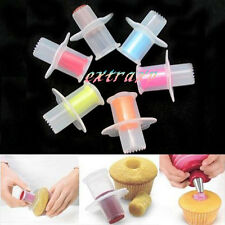 Kitchen Cupcake Muffin Pastry Cake Corer Plunger Cutter Decorating Divider Model