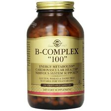 "Solgar, Vitamin B-Complex ""100"" Vegetable Capsules, 250"