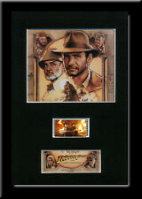 Indiana Jones and the Last Crusade Framed 35mm Mounted movie memorabilia