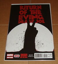 Return of the Living Deadpool #2 1st Print Marvel