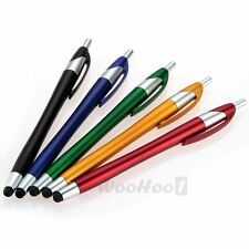 5x Kapazitiver Stift 2in1 Eingabestift Touchpen für iPhone 3G 3GS 4G 4S iPod