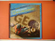Teacher Edition National Geographic World Cultures & Geography South Asia