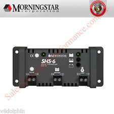 MORNINGSTAR SHS-6 SOLAR REGULATOR 6A 12V 6A LOAD