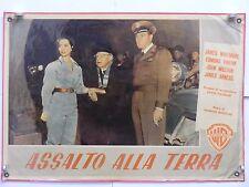 2)ASSALTO ALLA TERRA fantasc. horror di Gordon Doouglas fotobusta originale 1954