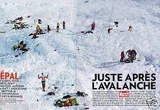 Coupure de Presse Clipping 2012 (10 pages) Népal Avalanche Manaslu