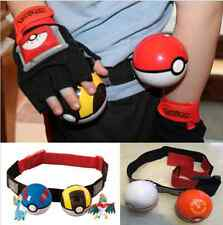 Pokemon Clip n Carry Kids Adjustable Poke Ball Belt Pretend Play Game Xmas Gift