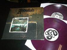 "Abdullah ""same"" 2LP purple marbled - Prison 999-1 made in germany 2000"