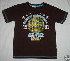 KZ BOYS 1981 Varsity Basketball All Star Champs Division 6 Shirt Top Size 6