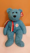 Ty Beanie Buddy Addison the Baseball Bear 2002, Retired & NEW