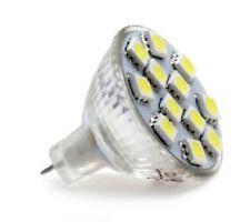 MR11 LED 2.4w Warm White Bulbs for Motorhome Boat = 20w