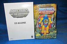 MASTERS OF THE UNIVERSE MOTU CLASSICS SY-KLONE WITH WHITE BOX NEW