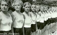 # 056 -  - German WW II Photo       League Of German Girls