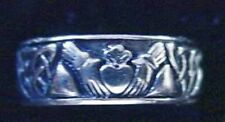 COOL Sterling Silver Buffy The Vampire Slayer CLADDAGH RING