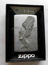 Zippo Feuerzeug Winged Woman Emblem