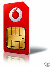 Vodafone Pay As You Go (PAYG) Sim Card Triple Sim Pack