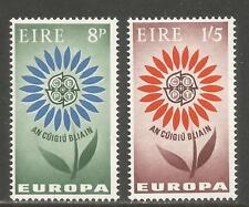 Ireland 1965 Europa/Symbolic Flower--Attractive Topical (196-97) MNH