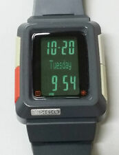 Seiko Timetron L251-4000 Dark Grey H-Slim Mega Rare Digital LCD Watch 90's Japan