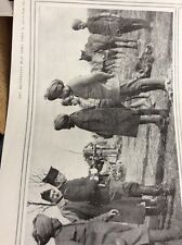 T1-9 Ephemera Ww1 1916 Picture French Officer Indian Cavalry