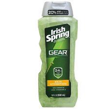 Irish Spring Gear Body Wash, Skin Hydration 18 oz