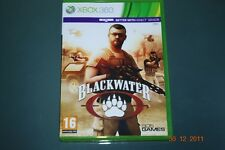Blackwater Xbox 360 and Kinect UK PAL **FREE UK POSTAGE**