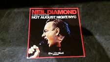 Neil Diamond Hot August Night / NYC - 10 Tracks The Mail on Sunday UK Promo CD