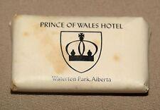 VINTAGE PRINCE OF WALES HOTEL WATERTON PARK, ALBERTA BAR OF SOAP