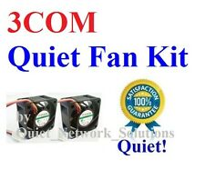 3COM BASELINE Switch 2824-SFP (3C16479) Quiet Fan Kit 2x 18dBA Noise Fan