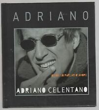 ADRIANO CELENTANO IO NON SO PARLAR D'AMORE CD BOOK