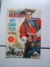 STAR CINE AVENTURES  NUM  141 / DEFI SANS PITIE / AVRIL 1964