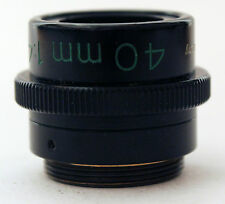 Carl Zeiss 40mm 1:4.5 Luminar Macro Lenses Germany Microscope Objectives f4.5