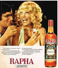 Publicité Advertising 1975 Aperitif Rapha