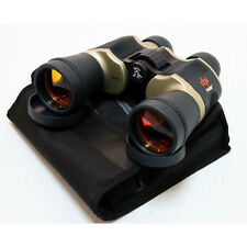 High Quality Day/Night 20x60 Ruby Lens Chrome Optic Binocular By Perrini, Pouch