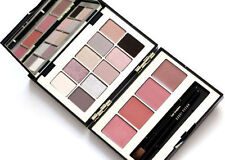 BOBBI BROWN twilight pink deluxe lip & eye palette eyeshadow lipstick brush NIB